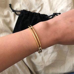 Vita Fede Alessio Gold Cuff Bracelet